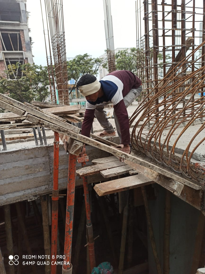 Jams Asha Purna Construction Project is maintained by Construction Dept. of  Jams Construction Ltd.
