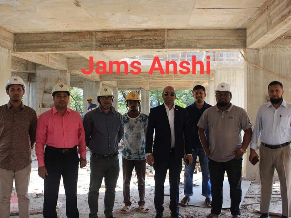 Jams Anshi Construction Project is maintained by Construction Dept. of  Jams Construction Ltd. and also Jams Silver Spring Construction Project is maintained by Construction Dept. of  Jams Constructio