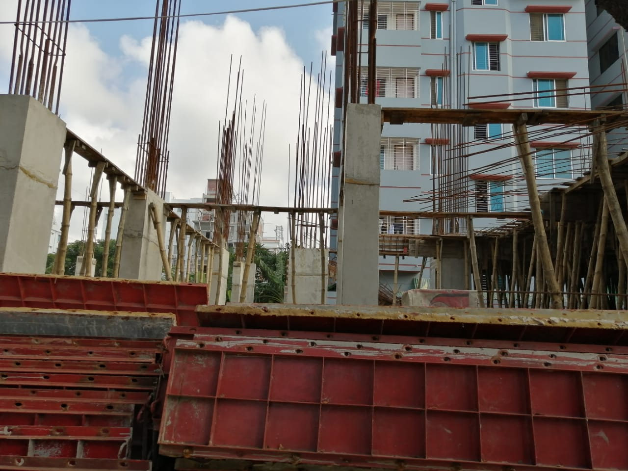 Jams Asha Purna Construction Project is maintained by Construction Dept. of  Jams Construction Ltd. and also Jams Silver Spring Construction Project is maintained by Construction Dept. of  Jams Constr