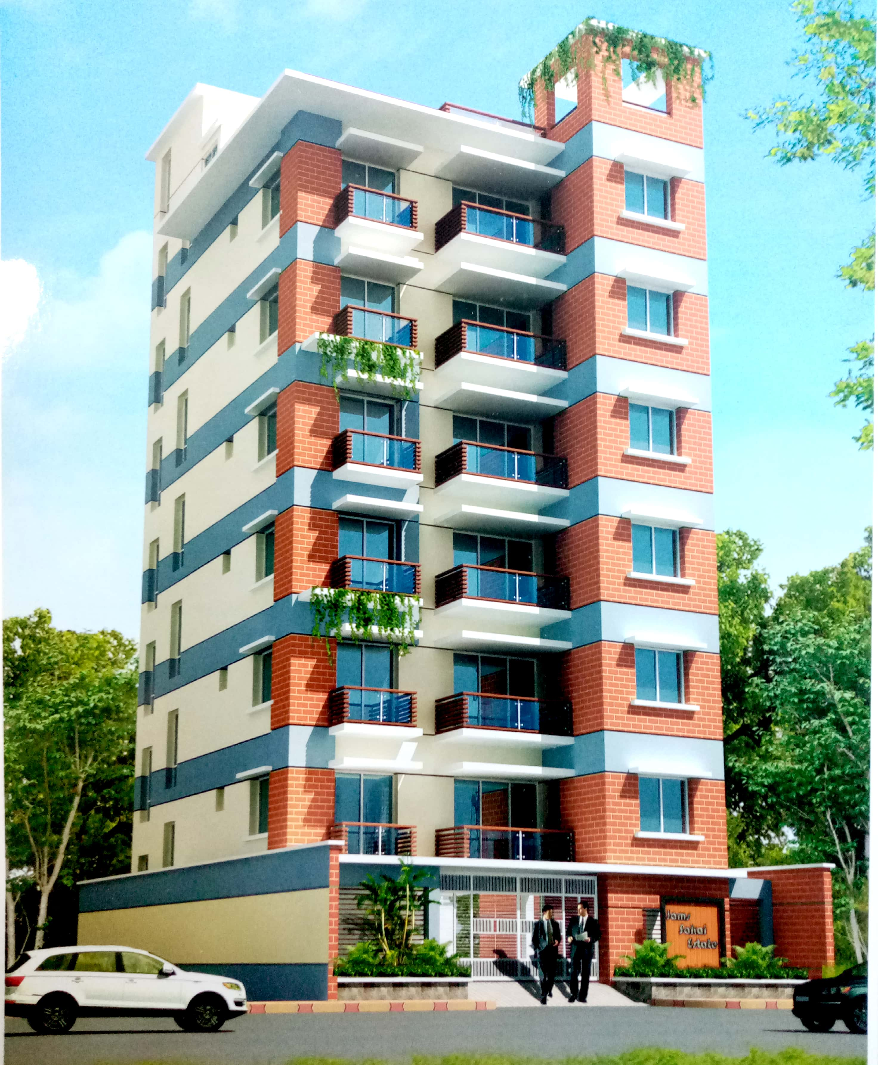 Jams Group completed their project Sakai Estate in Basundhara. Its a milestone for jams group